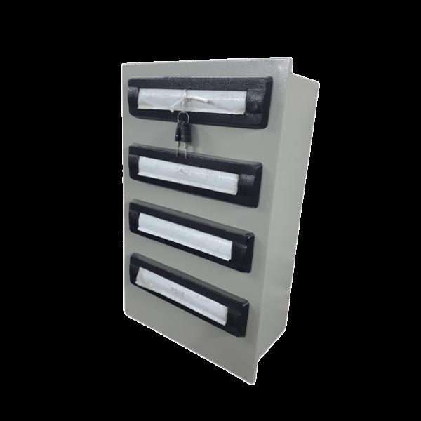صندوق پستی فلزی